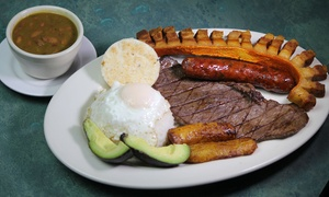 Sonero's Latin Grill: Dinner for Two or Four or More at Sonero's Latin Grill (45% Off)