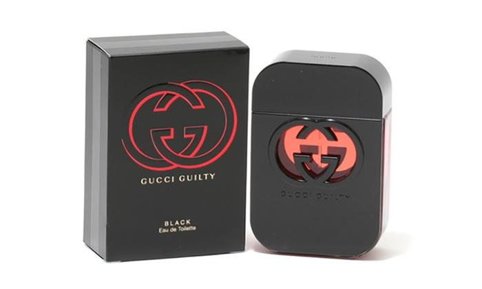 2003ec04c Gucci Guilty Black Ladies EDT Spray 2.5 Oz Women Spray Sweet 2.5 fl. oz. Eau  de Toilette