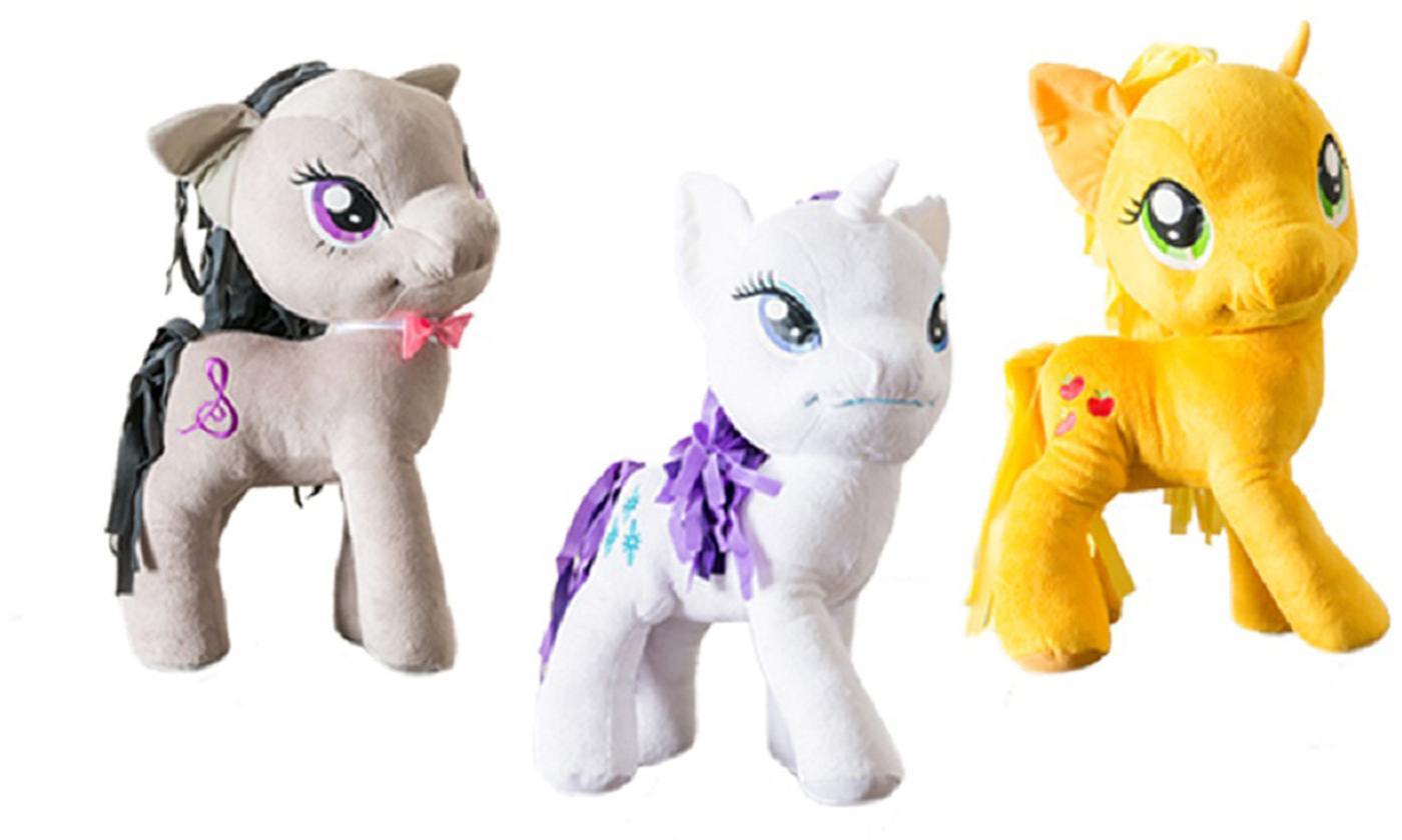 My Little Pony Apple Jack, Octavia or Rarity Plush Toy