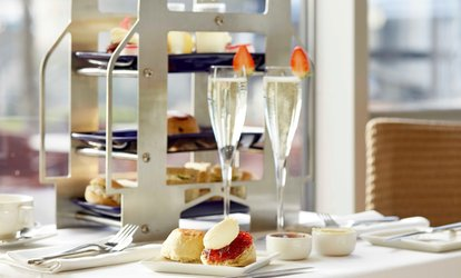 image for Afternoon Tea and Optional Sparkling Wine or Champagne for Two with Tower Bridge View at The Tower Hotel (50% Off)