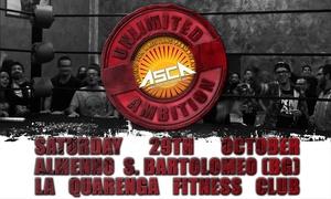 Wrestling Show: Wrestiling Show - Biglietto per Unlimited Ambition, il 29ottobre a Bergamo (sconto fino a 55%)