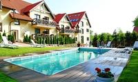 Mikołajki: 2-8 dni dla 2 osób lub rodziny z wyżywieniem w Hotelu Santa Monica 3* – święta, sylwester i więcej
