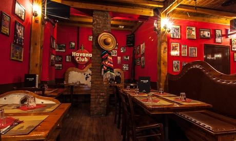 Silverado Saloon – Cena Tex-Mex per 2 persone con fajitas e sangria (sconto fino a 38%)