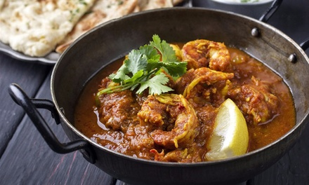 ThreeCourse Indian Meal with Wine for Two $29, Four $55 or Six People $79 at Spice Heaven Up to $311 Value