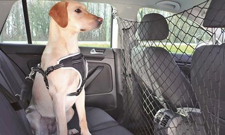 Rete divisoria elastica da auto per animali domestici