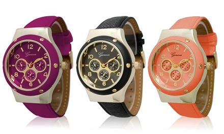 Geneva Women's Classic Dial Watch