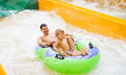 Stay with Daily Water Park Passes and Resort Credit at Great Wolf Lodge Traverse City in Michigan. Dates into July.