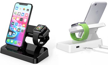 2-in-1 Charging Dock for Apple