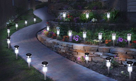 Lot de 20 lampes LED solaires