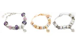 Bracelets à breloques ornés de cristaux Swarovski®