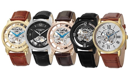 Best of Stührling: Men's Automatic Skeletonized Watch Collection