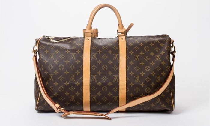 Sac de voyage Keepall Louis Vuitton seconde main   Groupon Shopping 05c5815c7d5