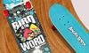 "Angry Birds 28"" Skateboard"