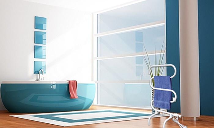 radiateur s che serviette groupon. Black Bedroom Furniture Sets. Home Design Ideas
