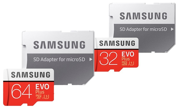 Raion Limited: Samsung EVO+ MicroSDHC/XC Card with Adapter With Free Delivery