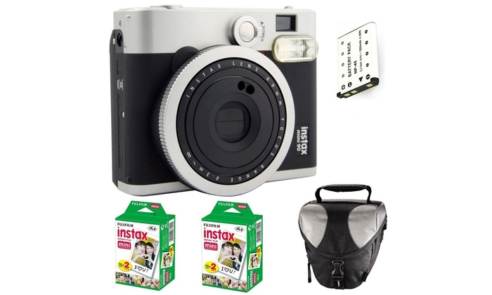 Pack Complet Fuji Instax Mini90   Groupon Shopping 7ecf1c583121