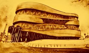 """StuttgartKonzert: Die Sand-Malerei-Show """"Stuttgart in Sand gemalt"""" am 11.03.2018 in der Liederhalle Stuttgart (bis zu 37% sparen)"""