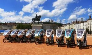 Cyclopolitain Lyon: Chasse au trésor découverte de Lyon d'1h ou 2h pour 1 ou 2 personnes dès 49,90 € avec Cyclopolitain Lyon