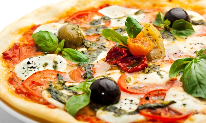 Go Fresh - Medfield: $6 Off Any Two Large Pizzas or Large Calzones (Mix and Match) at Go Fresh