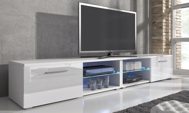 meuble tv samuel groupon. Black Bedroom Furniture Sets. Home Design Ideas