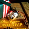 Up to 72% Off Personalized Christmas Bell or Train Ticket