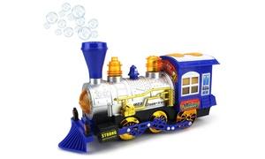 Kids Bubble Blowing Steam Train Locomotive