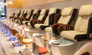 Mani-Pedi at Fingers & Toes Studio. Three Options Available at Fingers & Toes Studio, plus 6.0% Cash Back from Ebates.