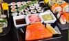 Sushi box da 50 o 100 pezzi