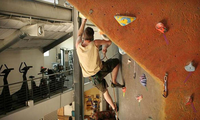Urban Ascent - Downtown: 1-Day Rock-Climbing Pass with Lesson and Gear, or 30-Day Pass with Option for Gear at Urban Ascent (Up to 71% Off)