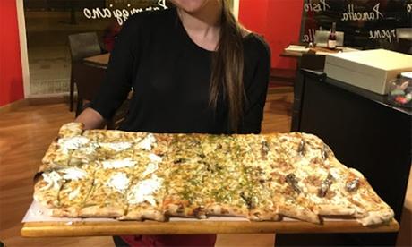 Pizza mediana o familiar para 2 o 4 personas con bebida desde 7,90 € en Pizzaonna Ristorante