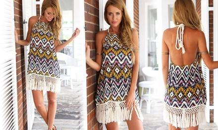 Boho Fringed Dress: One ($15) or Two ($25)