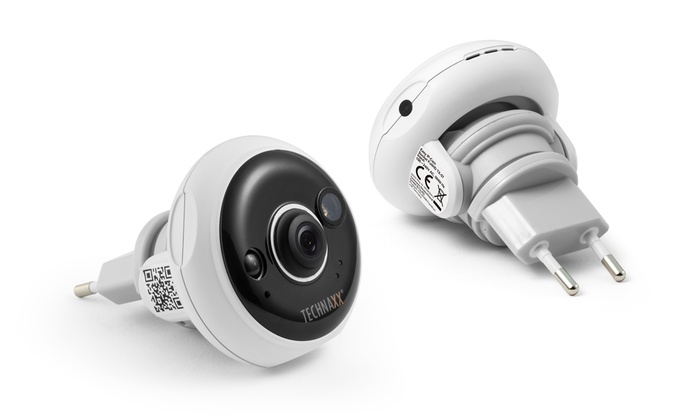 Groupon Goods Global GmbH: Technaxx TX-57 Easy FullHD IP-Überwachungskamera für die Steckdose (26% sparen*)