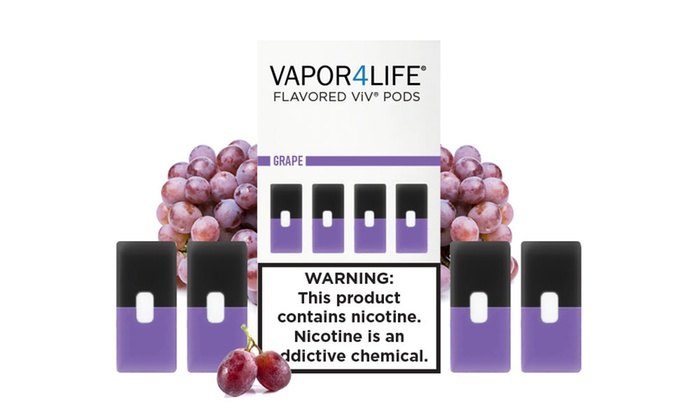 ViV Pods for Juul Vape Devices (8-Count) from Vapor4Life