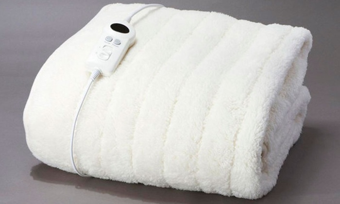 Electric Heated Throw Rug Groupon