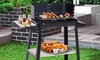 Outsunny Trolley Barbecue Grill