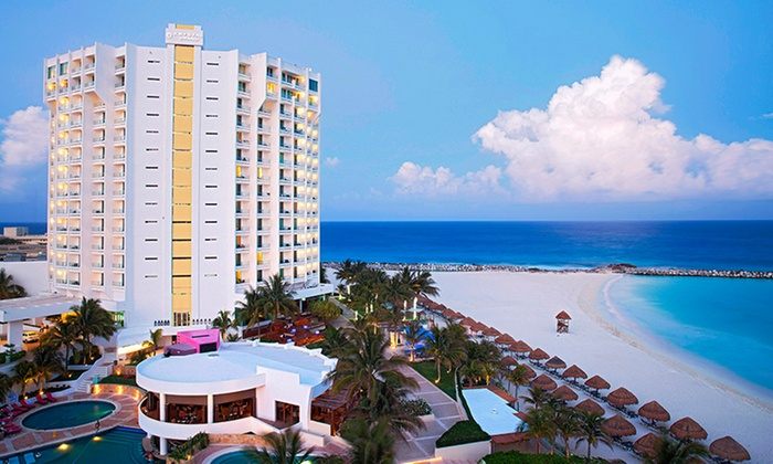 All inclusive krystal grand punta canc n stay with nonstop for Round the world trips all inclusive