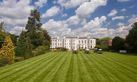 Buckinghamshire: Classic or Deluxe Double Room for Two with Breakfast and TwoCourse Dinner at 4* Burnham Beeches Hotel