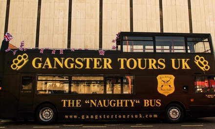 London Gangster Bus Tour with Entry to The Clink Prison Museum for Up to Four from Gangster Tours