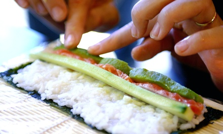 $49 for a Sushi-Making Class for Two at Kabuto Japanese House of Steaks and Sushi ($75 Value)