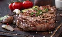 Rib-Eye Steak with a Large Glass of Wine for Two or Four at Red Lion Coaching Inn (Up to 53% Off)