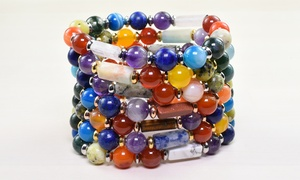 Pink Box Genuine Healing Chakra Bracelet