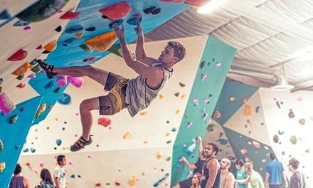 Up to 71% Off Yoga and Rock Wall Climbing at Grotto Climbing & Yoga