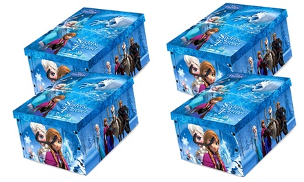 One, Two or Four Disney Frozen Toy Box