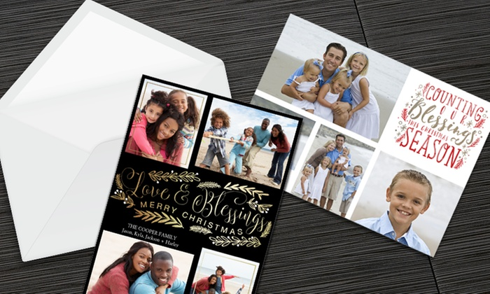 Staples in akron canton groupon up to 71 off custom holiday cards invites from staples m4hsunfo