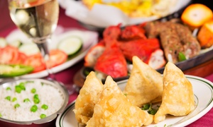 Spice Garden Restaurant: Two-Course Indian Meal With Wine For Two (£12) or Four (£22) at Spice Garden Restaurant (Up to 60% Off)