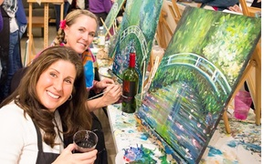 Hook Gallery & Framing: BYOB Painting Class for One or Two at Hook Gallery & Framing (Up to 55% Off)