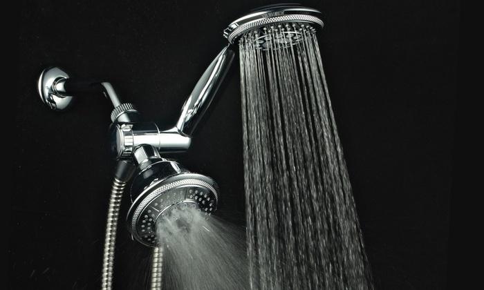 Water Saving Shower Heads >> Hydroluxe Showerhead Combo | Groupon Goods