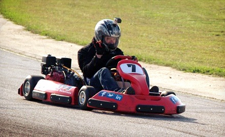 Three-Race Go-Kart Package for One or Two at On Track Xperience (Up to 51% Off)