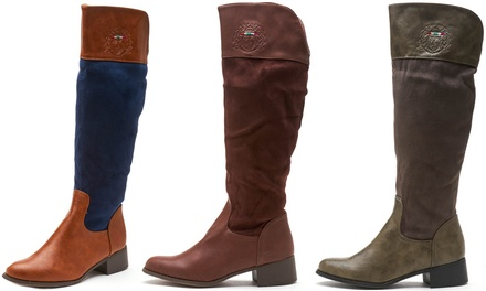 Women's Pull-On Tall Boots