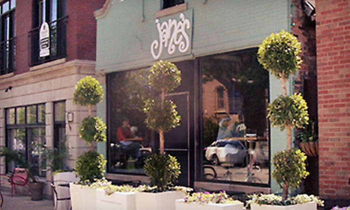 Jane's Restaurant - Bucktown: $20 for $40 Worth of Contemporary American Comfort Food and Drinks for Dinner at Jane's Restaurant